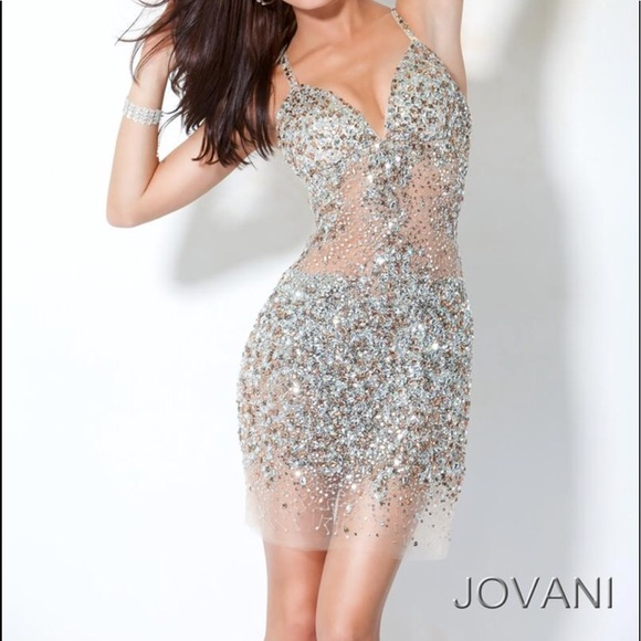 Jovani Dresses & Skirts | Sparkle Party Dress | Poshmark